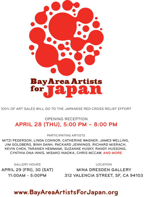 Bay Area Artists For Japan